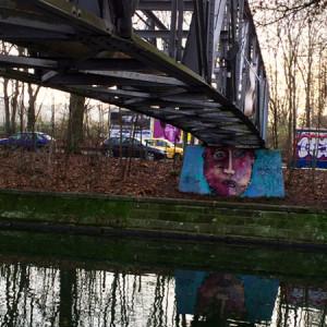 Brücke im südöstlichen Berlin (© Anne Schüchner)