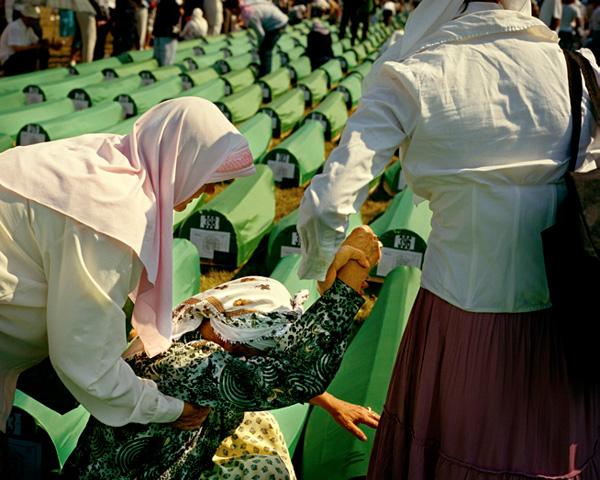 16. Jahrestag des Massakers von Srebrenica, Potocari, 2011 (© Marc Beckmann)