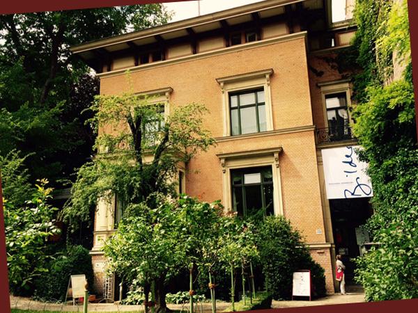 Literaturhaus Fasanenstraße (©Anne Schüchner)