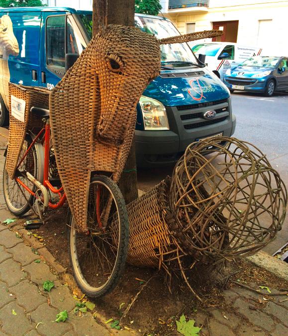 Ein fast ausgestorbenes Metier in der Stadt (© Anne Schüchner)