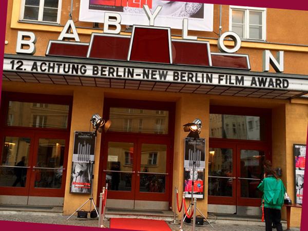 Kino Babylon mit Achtung Berlin Festival (©Anne Schüchner)