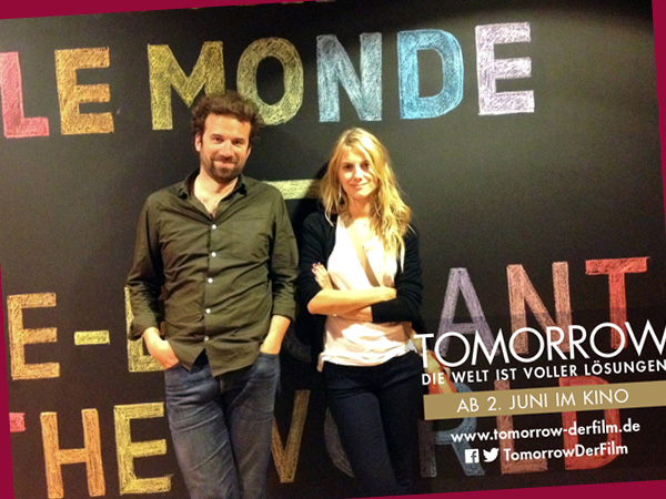Mélanie Laurent und Cyril Dion (tomorrow-derfilm.de)
