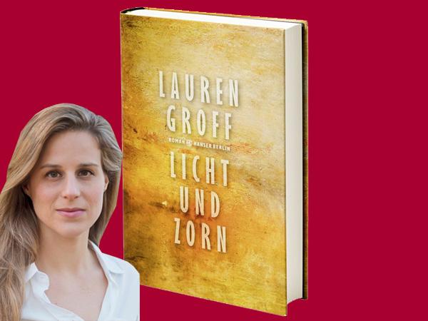 Collage Buchcover/LaurenGroff (© Hanser/MeganBrown)