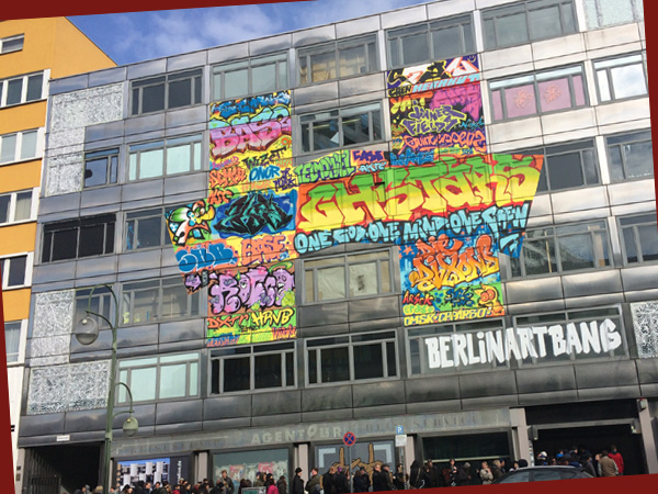 Ehemaliges Gebäude der Berliner Volksband (Foto: Anne Schüchner)