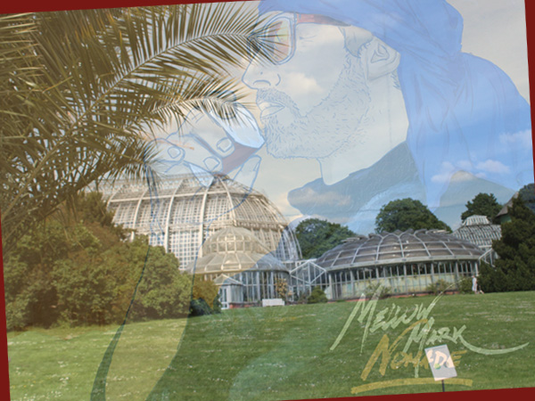 Collage Botanischer Garten/Cover von Nomade (Foto: AS/Mellow Mark)