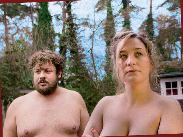 Till Butterbach als Hans und Anna König als Anna (Foto: W-film/tellfilm)