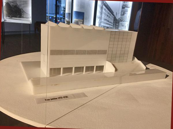 Modell des Pavillons der Stadt Brno (Foto: AS)