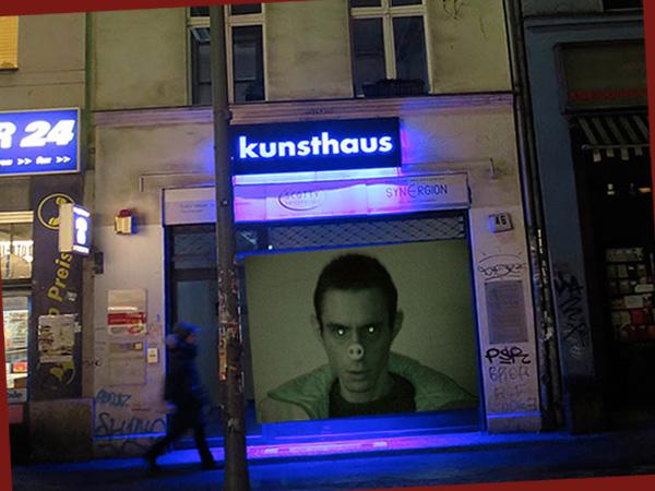 Montage Fenster und Gesicht (Foto: Maria Pomiansky)