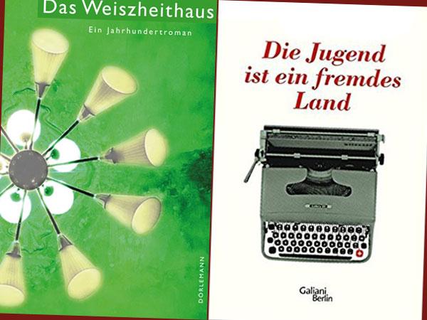 Buchcover Das Weiszheithaus/Die Jugend ist ein fremdes Land (Dorlemann/Galiani Berlin Verlag)
