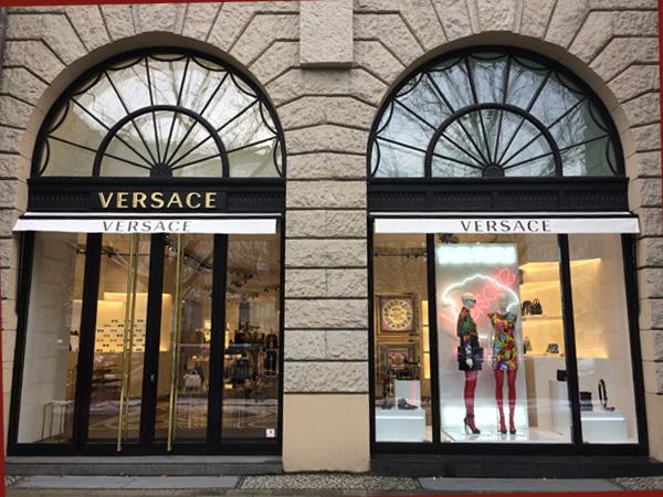 Versace Filiale am Kudamm (Foto: Anne Schüchner)
