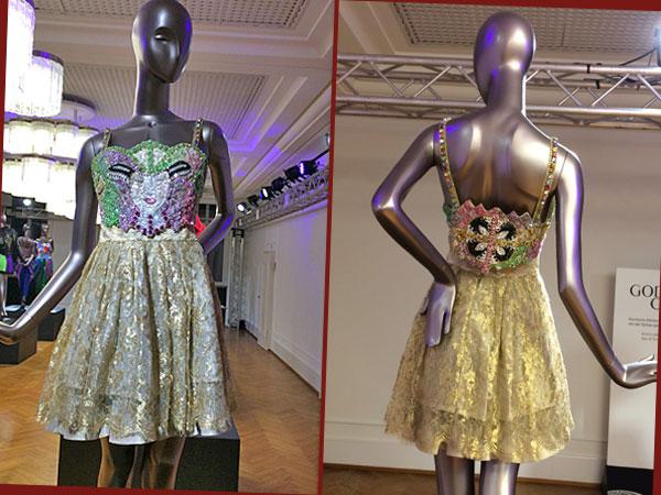 Paillettenkleid (Foto: Anne Schüchner, Design: G. M. Versace)