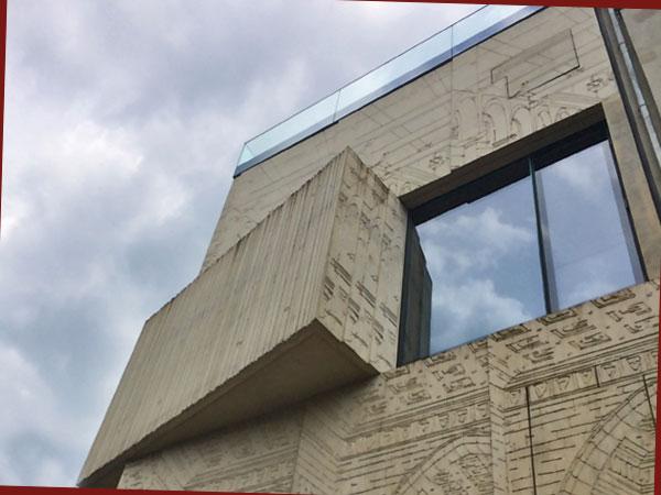 Fassade der Tchoban-Foundatin (Foto: Anne Schüchner)