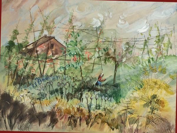 Bohnengarten 1940 (Hannah Höch)