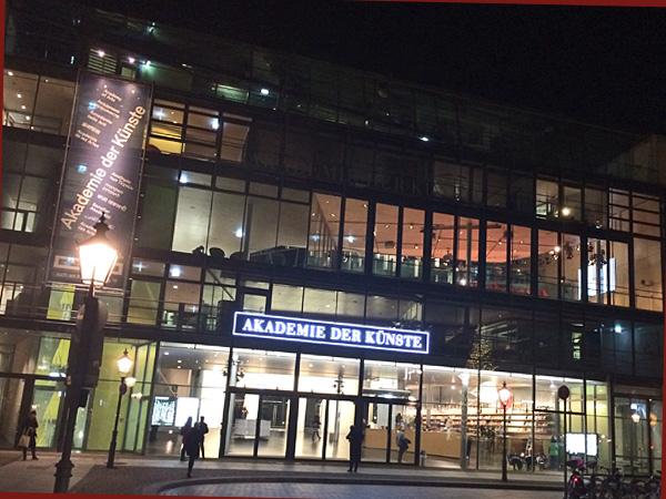 Akademie der Künste am Pariser Platz (Foto Anne Schüchner)
