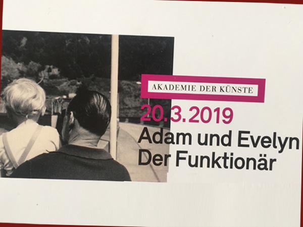 Flyer zum Goldstein-Doublefeature (© Akademie der Künste)