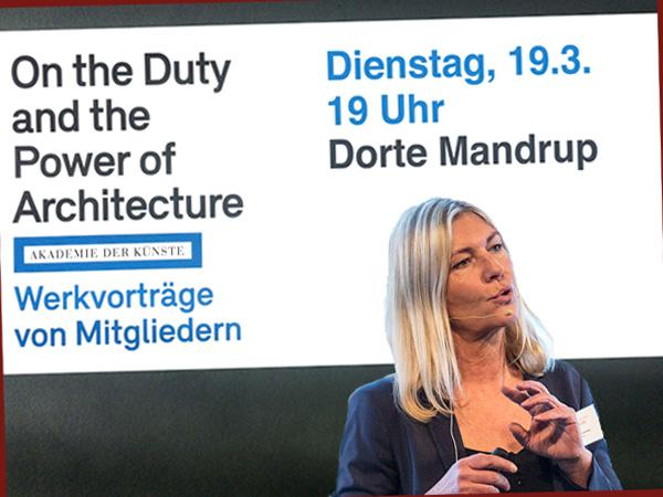 Vortragsreihe mit Dorte Mandup (Collage: AS/Wikipedia)
