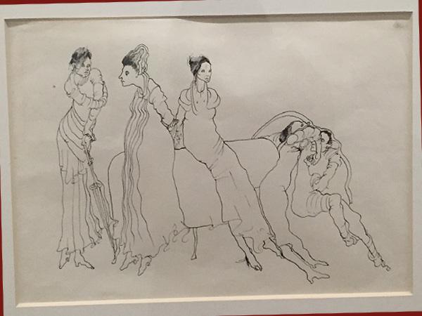 Zeichnung von Maria Antónia Siza (Foto AS, Tchoban-Foundation)