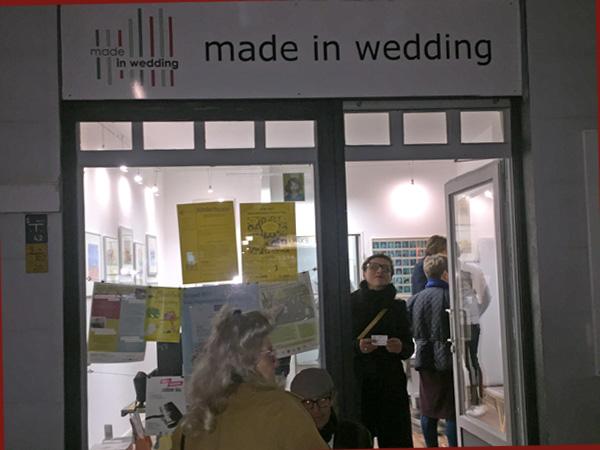 Eingang zur Galerie made in Wedding (Foto: Anne Schüchner)