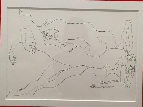 Zeichnung von Álvaro Leite Siza (Foto AS, Tchoban-Foundation)