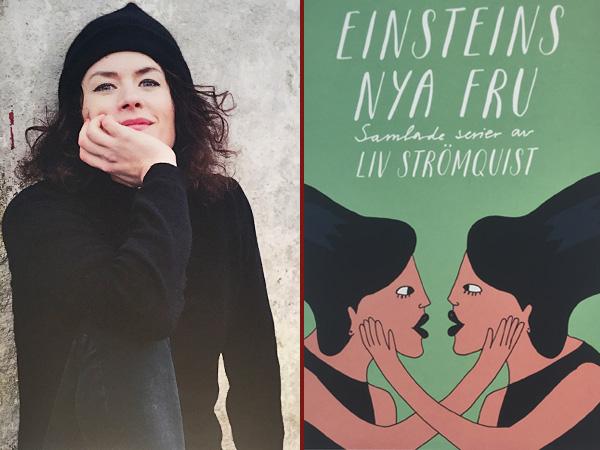 Collage Liv Strömquist und ihre Essays (Foto: Anne Schüchner)
