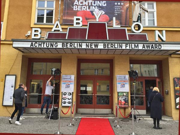 Eingang zum Babylon (Foto: Anne Schüchner)