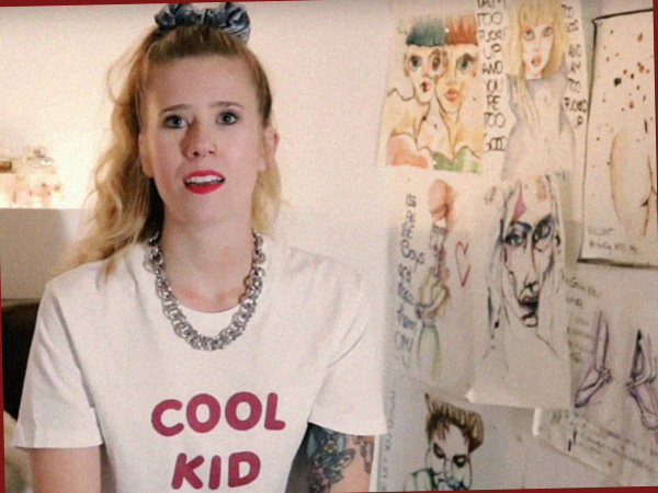Sarah, Modedesignerin - eine der Protagonisten aus Berlin4Lovers (Foto: AS)