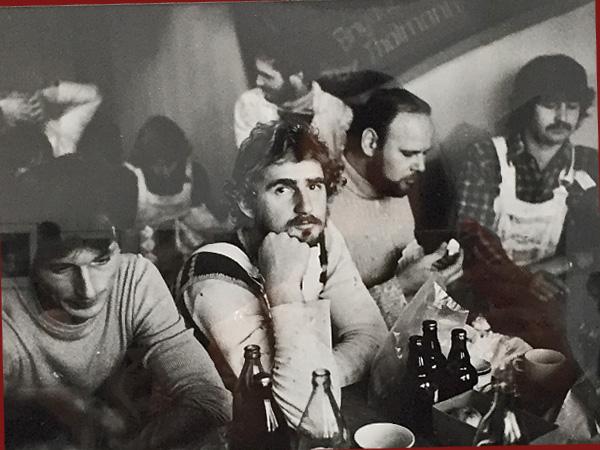Malerbrigade, Berlin 1980 (Foto: Roger Melis)
