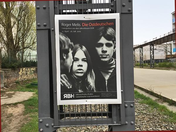Plakat der Ausstellung in Oberschöneweide (Foto: Anne Schüchner)