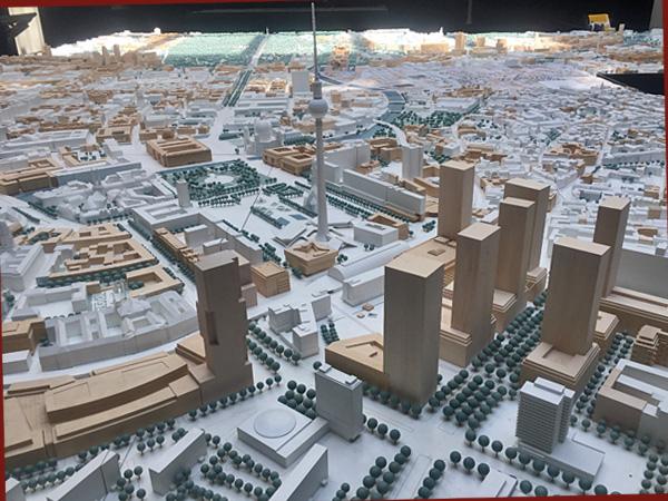 Stadtmodell 1:500 (Foto: Anne Schüchner)