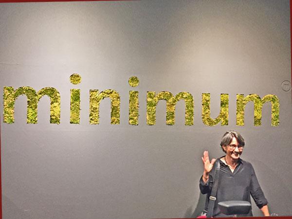 minimum Logo-Entwicklerin Karin (Foto: Anne Schüchner)