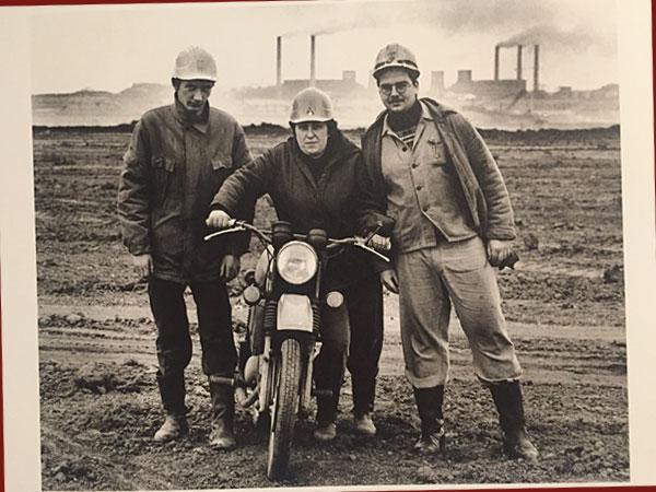 Arbeiter im Tagebau, Borna (Foto: AS/Stefan Moses)