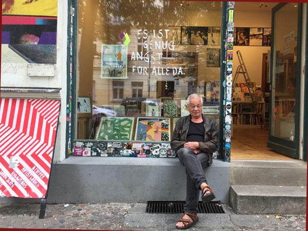 Wolf Leo vom Supalife Kiosk (Foto: Anne Schüchner )