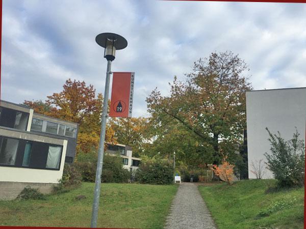 Künstlerhaus K 19 im Studentendorf Schlachtensee (Foto: Anne Schüchner)