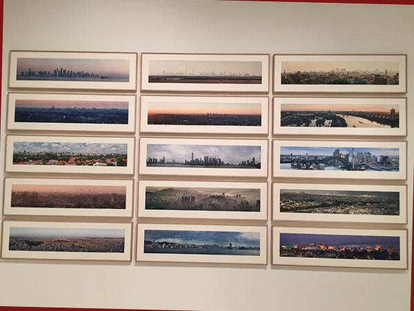 Städtepanoramen von 2012-2020 (© HG Esch)