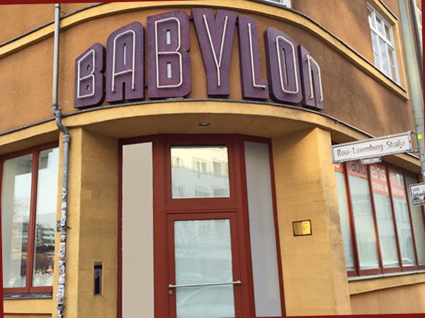 Seitenansicht des Babylon (Foto: AS)