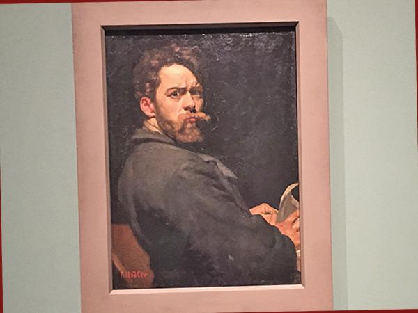 Selbstbildnis 1881 (©Kunstmuseum Bern)